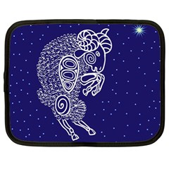 Aries Zodiac Star Netbook Case (xl)  by Mariart