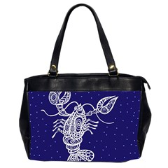 Cancer Zodiac Star Office Handbags (2 Sides)  by Mariart