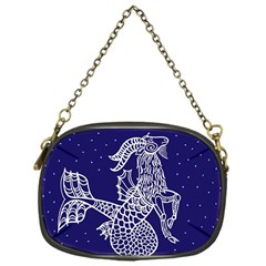 Capricorn Zodiac Star Chain Purses (one Side)  by Mariart