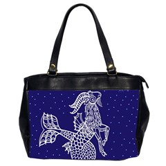 Capricorn Zodiac Star Office Handbags (2 Sides)  by Mariart