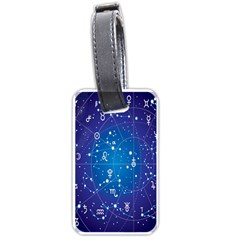 Astrology Illness Prediction Zodiac Star Luggage Tags (one Side)  by Mariart