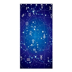 Astrology Illness Prediction Zodiac Star Shower Curtain 36  X 72  (stall)  by Mariart