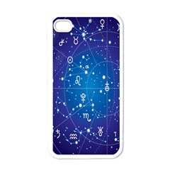 Astrology Illness Prediction Zodiac Star Apple Iphone 4 Case (white) by Mariart