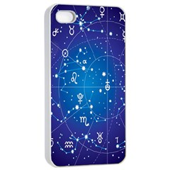 Astrology Illness Prediction Zodiac Star Apple Iphone 4/4s Seamless Case (white) by Mariart