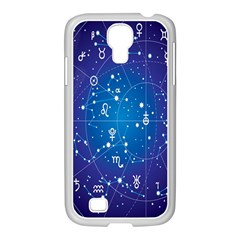 Astrology Illness Prediction Zodiac Star Samsung Galaxy S4 I9500/ I9505 Case (white) by Mariart