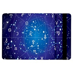 Astrology Illness Prediction Zodiac Star Ipad Air Flip by Mariart
