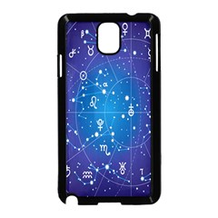 Astrology Illness Prediction Zodiac Star Samsung Galaxy Note 3 Neo Hardshell Case (black) by Mariart