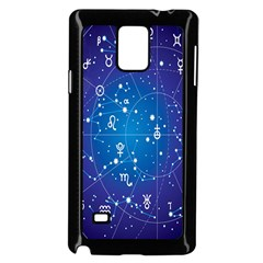 Astrology Illness Prediction Zodiac Star Samsung Galaxy Note 4 Case (black) by Mariart