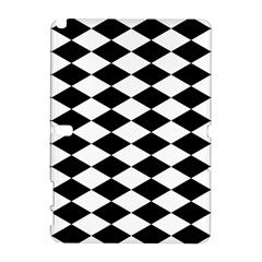Diamond Black White Plaid Chevron Galaxy Note 1 by Mariart