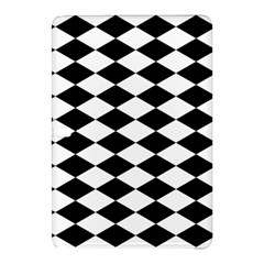 Diamond Black White Plaid Chevron Samsung Galaxy Tab Pro 10 1 Hardshell Case by Mariart