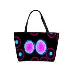 Cell Egg Circle Round Polka Red Purple Blue Light Black Shoulder Handbags by Mariart