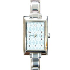 Animal Mice Bones Mouse Leaf Rectangle Italian Charm Watch by Mariart