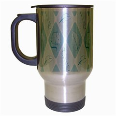 Animal Mice Bones Mouse Leaf Travel Mug (silver Gray) by Mariart