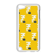 Fog Machine Fogging White Smoke Yellow Apple Ipod Touch 5 Case (white) by Mariart