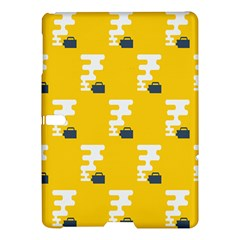 Fog Machine Fogging White Smoke Yellow Samsung Galaxy Tab S (10 5 ) Hardshell Case  by Mariart