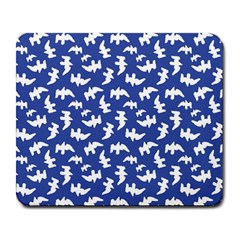 Birds Silhouette Pattern Large Mousepads by dflcprintsclothing