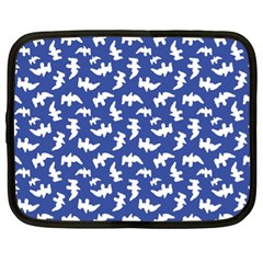 Birds Silhouette Pattern Netbook Case (xl)