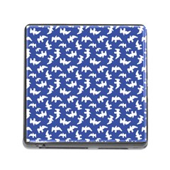 Birds Silhouette Pattern Memory Card Reader (square) by dflcprintsclothing