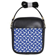 Birds Silhouette Pattern Girls Sling Bags by dflcprintsclothing