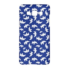 Birds Silhouette Pattern Samsung Galaxy A5 Hardshell Case  by dflcprintsclothing