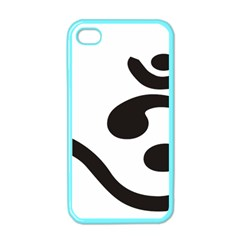 Bengali Om Symbol  Apple Iphone 4 Case (color) by abbeyz71