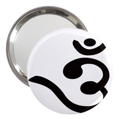 Bengali Om Symbol  3  Handbag Mirrors by abbeyz71