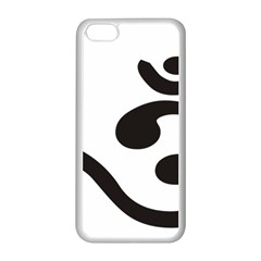 Bengali Om Symbol Apple Iphone 5c Seamless Case (white) by abbeyz71