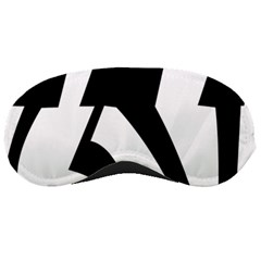 Tibetan Om Symbol (black) Sleeping Masks