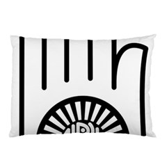 Janism Ahimsa Symbol  Pillow Case (two Sides) by abbeyz71