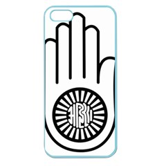 Janism Ahimsa Symbol  Apple Seamless Iphone 5 Case (color) by abbeyz71