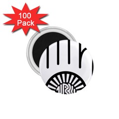 Jainism Ahisma Symbol  1 75  Magnets (100 Pack)  by abbeyz71