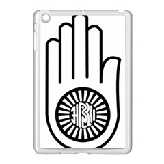 Jainism Ahisma Symbol  Apple Ipad Mini Case (white) by abbeyz71