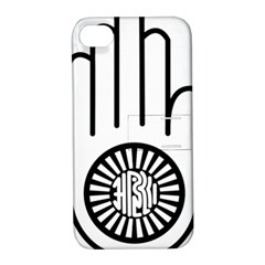Jainism Ahisma Symbol  Apple Iphone 4/4s Hardshell Case With Stand by abbeyz71