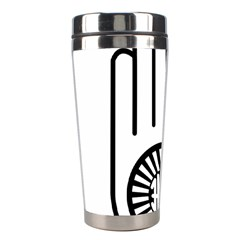 Jainism Ahisma Symbol  Stainless Steel Travel Tumblers by abbeyz71