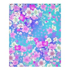 Flowers Cute Pattern Shower Curtain 60  X 72  (medium)  by Nexatart