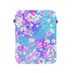 Flowers Cute Pattern Apple Ipad 2/3/4 Protective Soft Cases by Nexatart