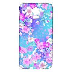 Flowers Cute Pattern Samsung Galaxy S5 Back Case (white)