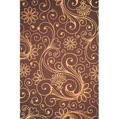Gold And Brown Background Patterns 5 5  X 8 5  Notebooks by Nexatart
