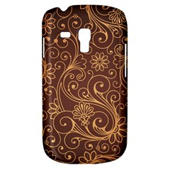 Gold And Brown Background Patterns Galaxy S3 Mini by Nexatart