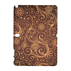Gold And Brown Background Patterns Galaxy Note 1 by Nexatart