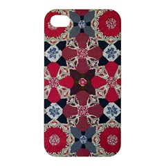 Beautiful Art Pattern Apple Iphone 4/4s Premium Hardshell Case