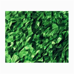 Green Attack Small Glasses Cloth (2 Side) by Nexatart