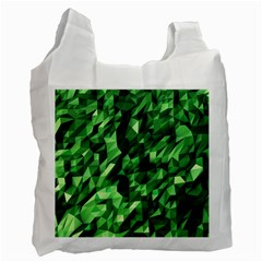 Green Attack Recycle Bag (one Side) by Nexatart