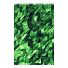 Green Attack Shower Curtain 48  X 72  (small)  by Nexatart