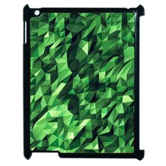Green Attack Apple Ipad 2 Case (black) by Nexatart