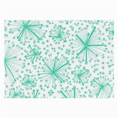 Pattern Floralgreen Large Glasses Cloth