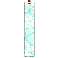 Pattern Floralgreen Large Book Marks by Nexatart