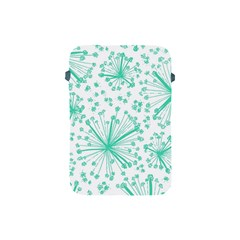 Pattern Floralgreen Apple Ipad Mini Protective Soft Cases by Nexatart