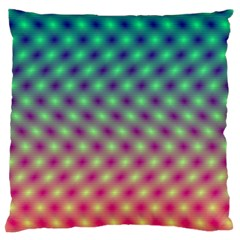 Art Patterns Large Flano Cushion Case (two Sides) by Nexatart