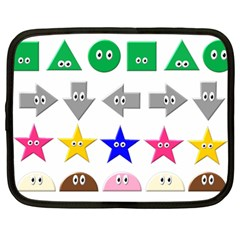 Cute Symbol Netbook Case (large) by Nexatart